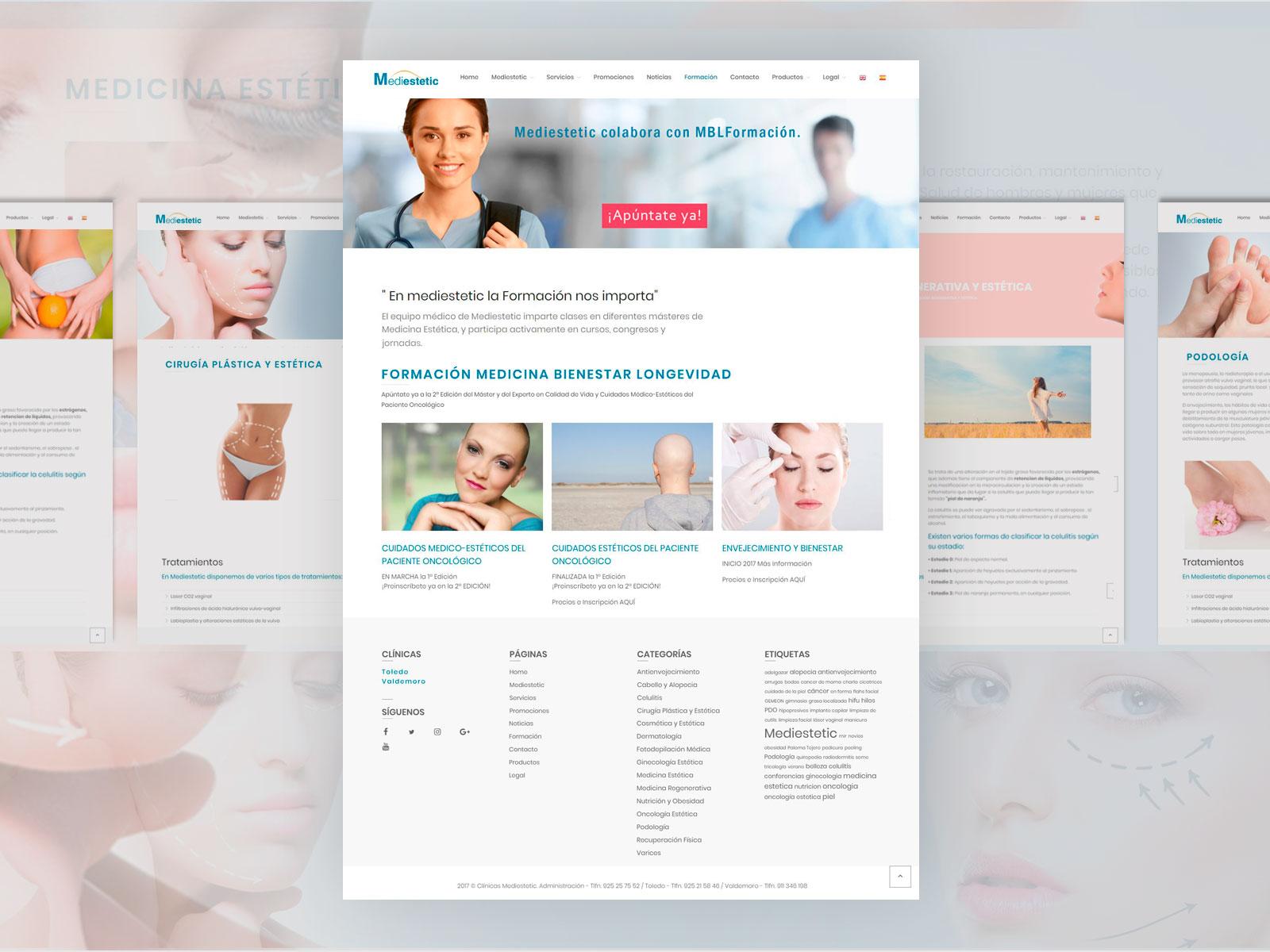 Diseño Gráfico diseño pagina web anadesign toledo