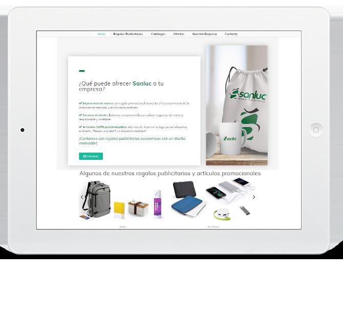 Diseño de pagina web en toledo diseño grafico anadesign